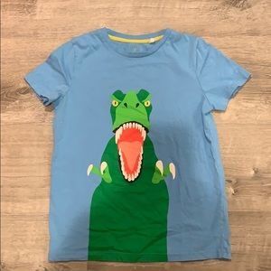 Boden t-Rex tee shirt size 11-12 years